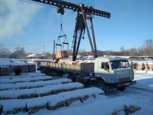 доставка кирпича в Омске